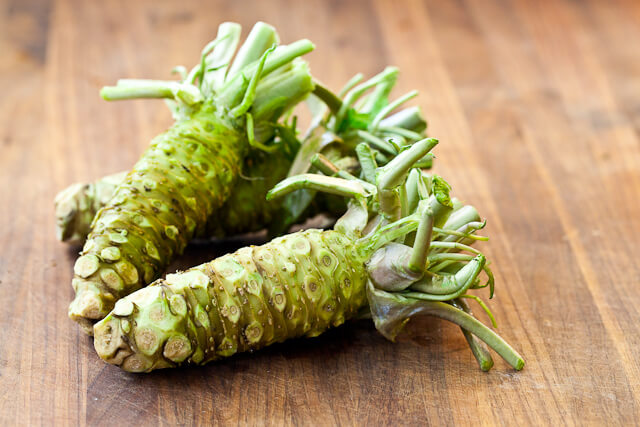 Natural Hair Loss Treatment - Wasabi?